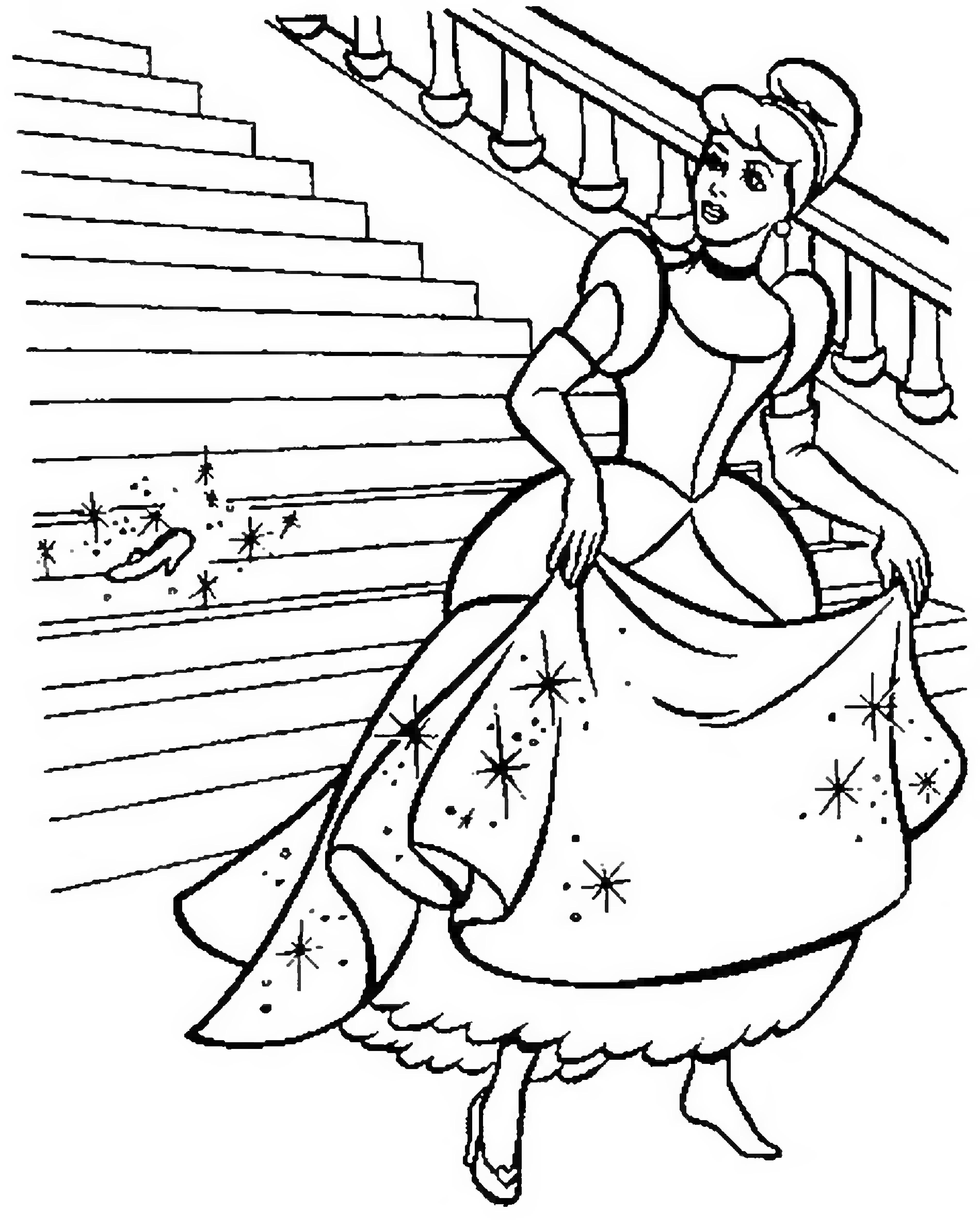 Картинка золушкам карандашом